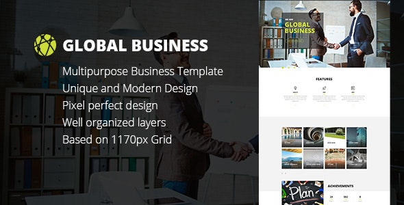 GB - Business, Corporate, Portfolio html Template - Business Corporate