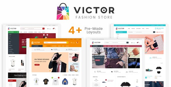 Victor - Fashion Shop eCommerce HTML Template