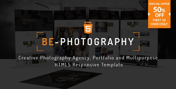 Be-Photography | Creative Photography Agency, Portfolio and Multipurpose HTML5 Responsive Template - Photography Creative