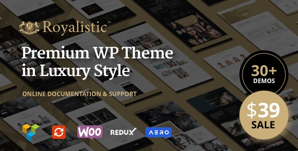 Royalistic - Creative Multi-Purpose WordPress Theme - Creative WordPress