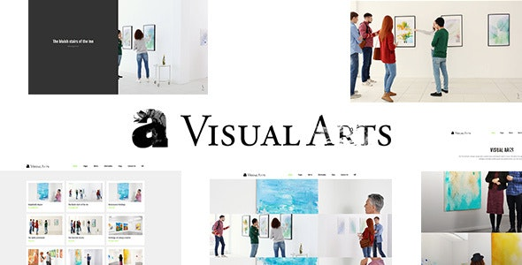 Visual Arts   Art Exhibition, Art School Theme - Portfolio Creative