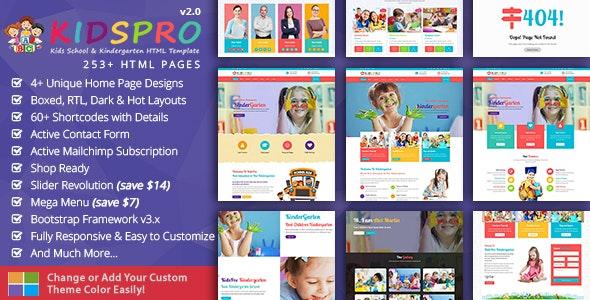 Kidspro Education Children Retail