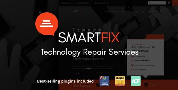 SmartFix - The Technology Repair Services WordPress Theme - Retail WordPress