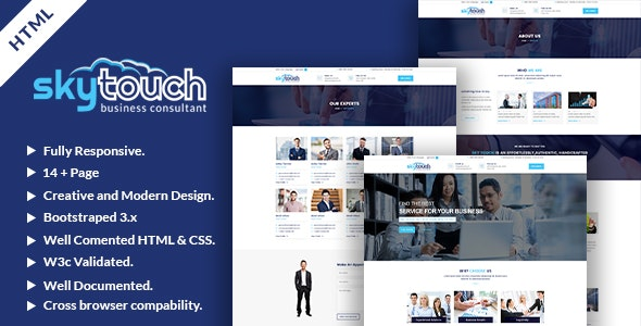 Skytouch - Business HTML Template - Business Corporate