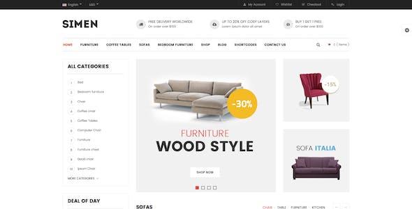 Simen - MultiPurpose WooCommerce WordPress Theme