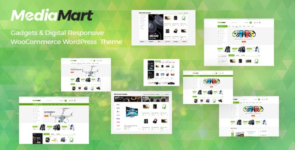 MediaMart - Gadgets & Digital Responsive WooCommerce WordPress Theme - WooCommerce eCommerce