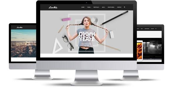 Looks Multipurpose HTML5 Template - Corporate Site Templates