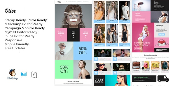 Olive Fashion Ecommerce Email Newsletter By Giantdesign Themeforest