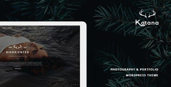 Katana - Photography & Portfolio WordPress Theme