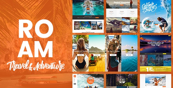 Roam - Travel & Tourism Theme - Travel Retail