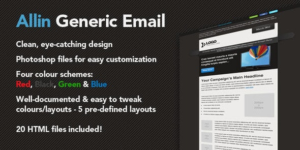 Allin Generic - Email Templates Marketing