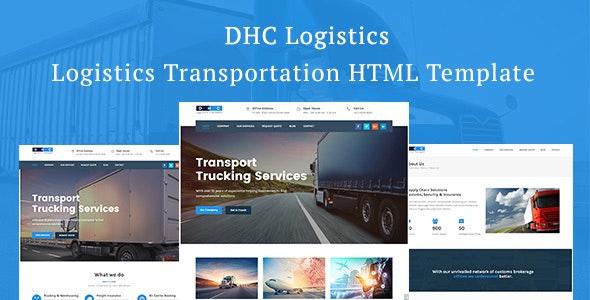 DHC | Logistics Transportation HTML Template - Business Corporate