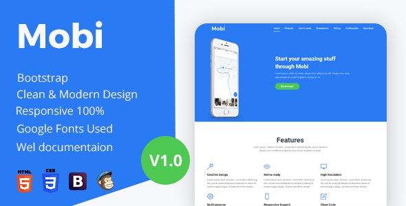 Mobi - App Landing Page - Landing Pages Marketing