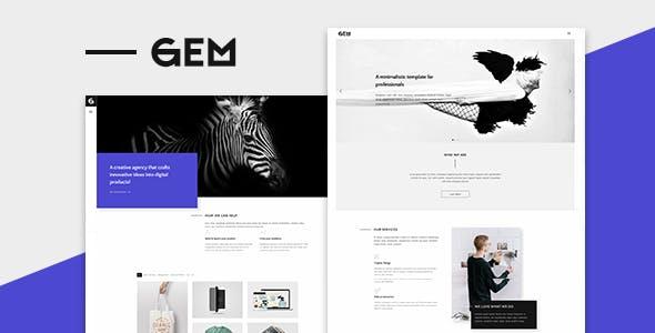Gems - A Multi-Purpose WordPress Theme