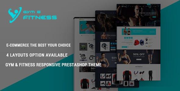 Gym & Fitness - Health Club Responsive PrestaShop Theme