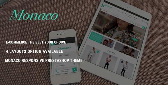 Monaco - Stylish Fashion Responsive PrestaShop Theme