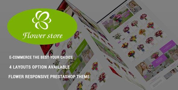 Flower Store - Fresh Bouquets Responsive PrestaShop Theme - Health & Beauty PrestaShop