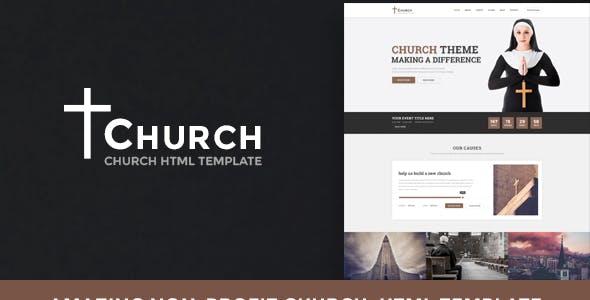Church - Nonprofit HTML Template