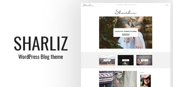 Sharliz - A Personal WordPress Blog Theme - Personal Blog / Magazine
