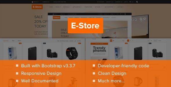 E-Store Responsive Shopify Theme