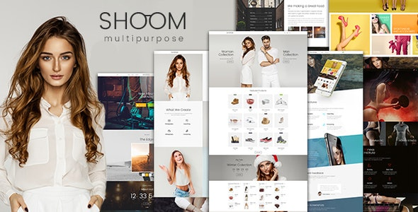 Shoom - Multipurpose Creative WordPress - Portfolio Creative