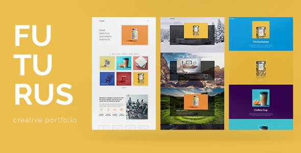 Futurus - Creative Portfolio WordPress Theme - Portfolio Creative