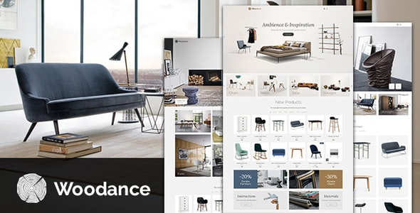 Woodance Furniture | Porfolio WooCommerce WordPress Theme - WooCommerce eCommerce