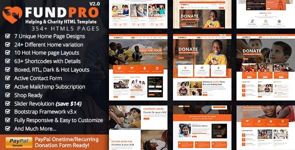 Fundpro - Charity Nonprofit