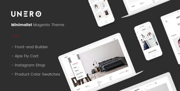 Unero – Minimalist Magento 2 and 1 Theme