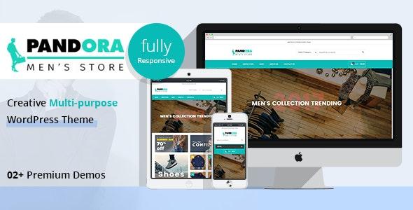 PD Pandora - Men's Fashion WordPress Theme - WooCommerce eCommerce