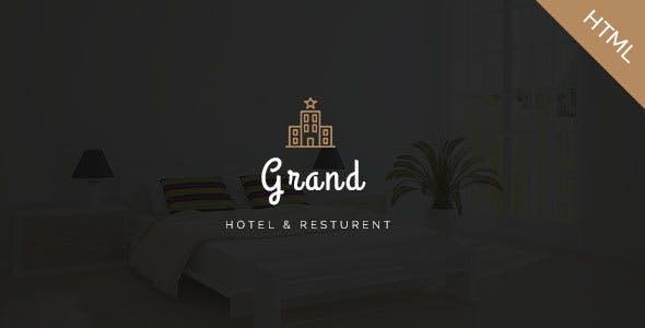 Grand-Hotel || Hotel & Resort HTML Template