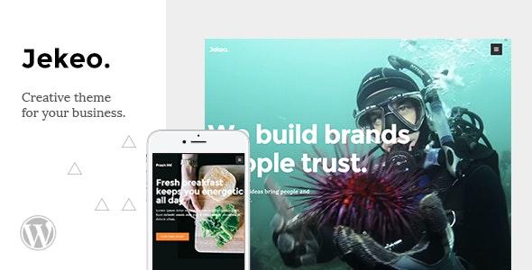 Jekeo - Creative WordPress Theme - Business Corporate