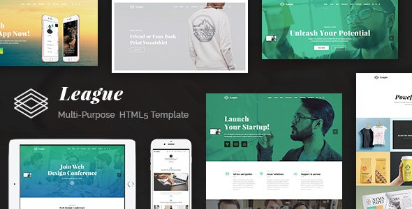 League – Multi-purpose Business HTML Template - Business Corporate