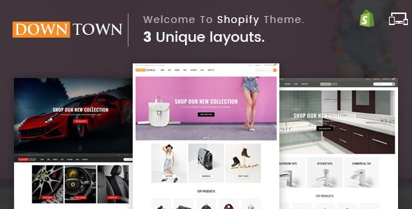 Down Town - Sectioned Multipurpose Shopify Theme - Shopping Shopify