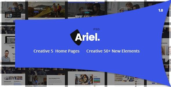 Ariel - Multi-Purpose HTML Template - Business Corporate