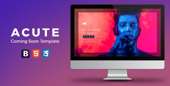 Acute Coming Soon Template - Specialty Pages Site Templates