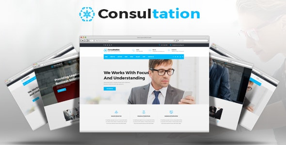 Consultation - Business Consulting and Professional Services HTML Template - Business Corporate