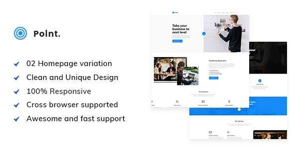 Point - Business HTML Template - Business Corporate