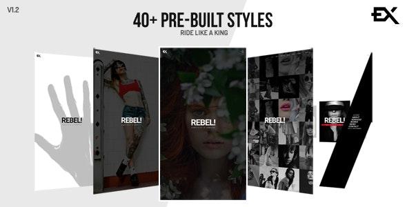 Rebel    Creative Portfolio Template - Portfolio Creative