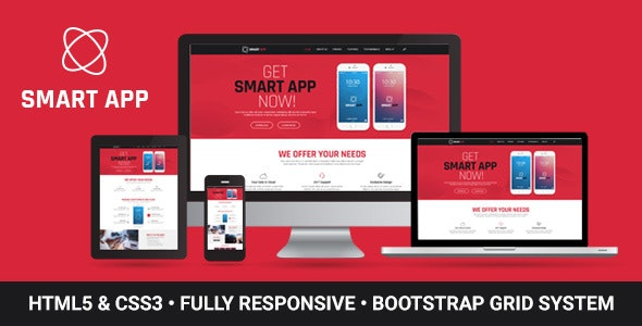 Smart App - App Landing Page - Landing Pages Marketing