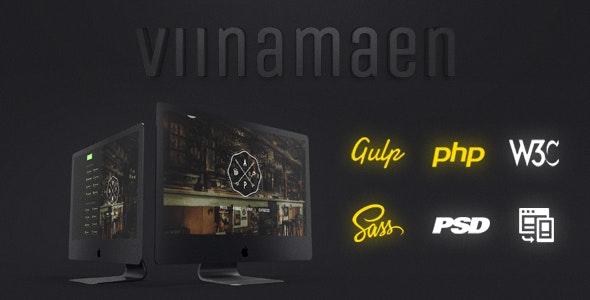 Viinamaen - Responsive Template for Beer Pub - Restaurants & Cafes Entertainment