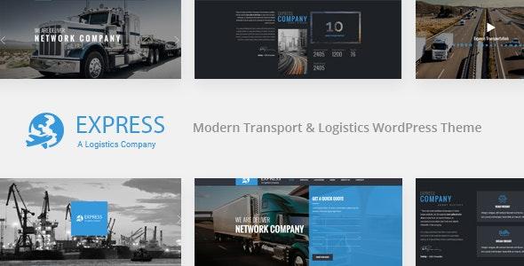 Express – Modern Transport & Logistics WordPress Theme - Business Corporate