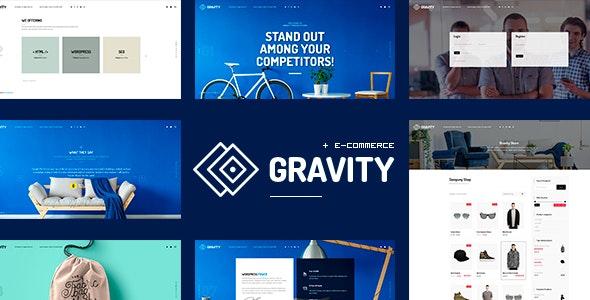 Gravity - ECommerce, Agency & Presentation Theme - Portfolio Creative