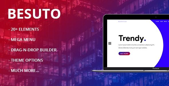Besuto - Multipurpose Creative Theme - Technology WordPress