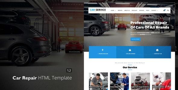 Avados - Car Repair HTML template - Business Corporate