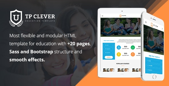 TP Clever - Education Multi-Purpose Responsive HTML Template - Site Templates