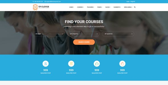 TP Clever - Education Multi-Purpose Responsive HTML Template