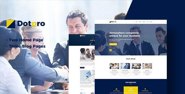 Rotpro - Corporate PSD Template - Corporate Photoshop