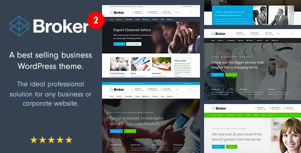 Broker - Business and Finance WordPress Theme - Business Corporate