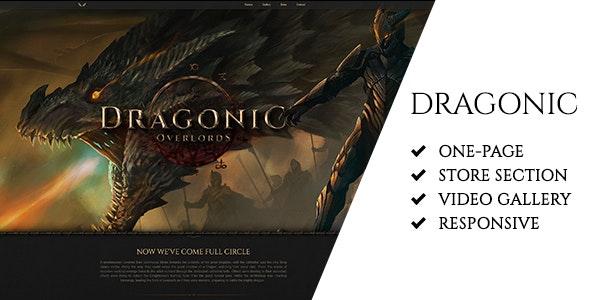 Dragonic: The Ultimate Premium Gaming Landing Page - Landing Pages Marketing